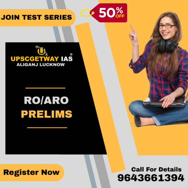 RO-ARO Prelims Test Series in Lucknow