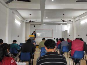 UPSCGETWAY IAS Aliganj Lucknow Classroom