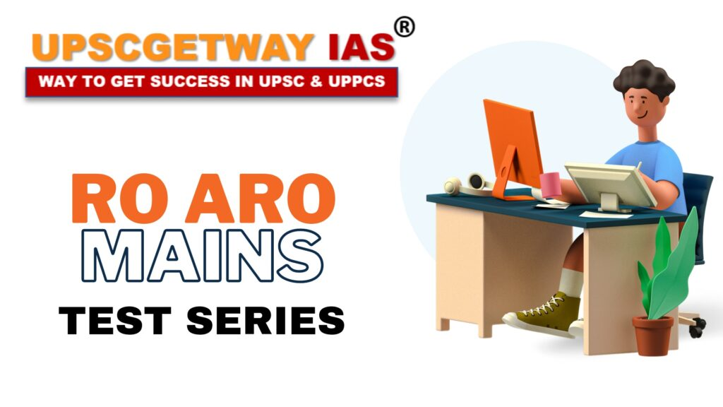 RO ARO Mains Test Series and Library in Lucknow