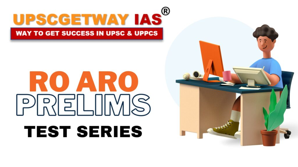 RO ARO Prelims Test Series and Library in Lucknow