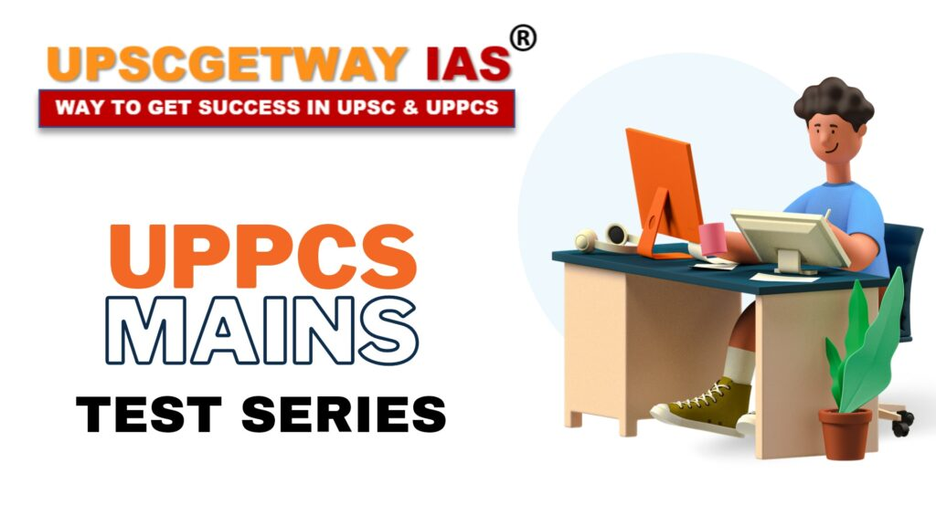 UPPCS Mains Test Series and Library in Lucknow